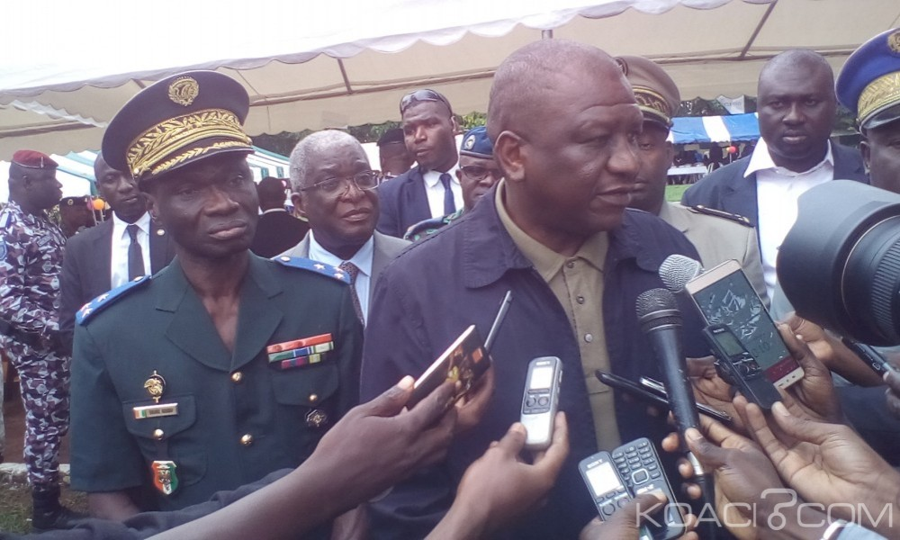 Côte d'Ivoire: Hamed Bakayoko dans les camps de Bouaké, «Je vais veiller à ce qu'il n'y ait pas d'injustice contre un militaire mais je serai très ferme...»
