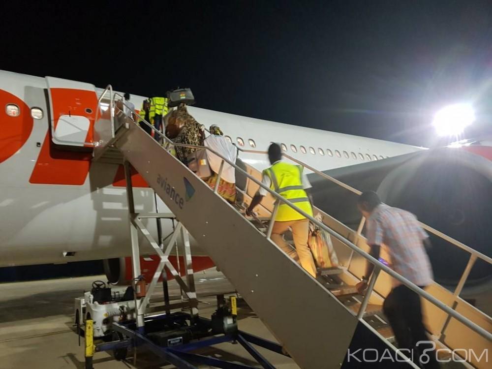 Libye: 132 migrants guinéens renvoyés  par avion dans leur pays