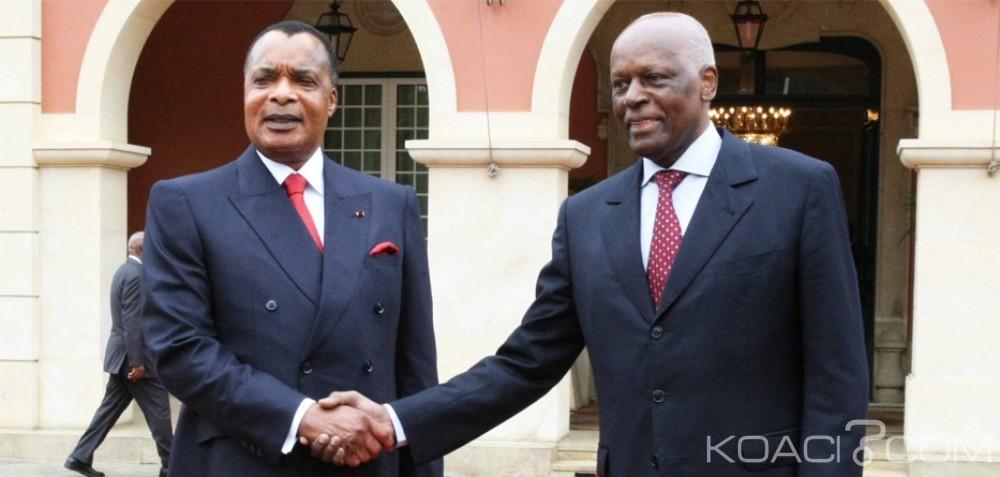 Angola:  Sassou NGuesso salue le départ de Dos Santos au pouvoir depuis 37 ans