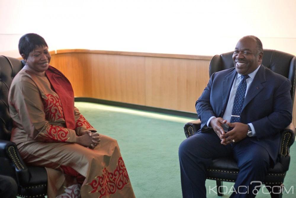 Gabon: Bensouda se félicite de l'exemple qu'a donné le Gabon aux autres pays d'Afrique en saisissant lui-même la CPI