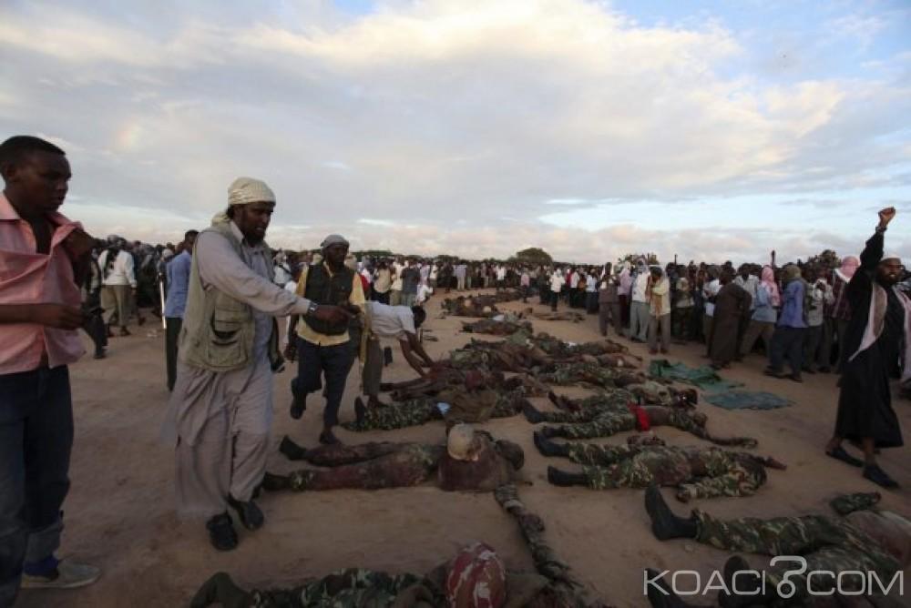 Somalie: Attaque d'Al shabab contre une base militaire,   20 soldats tués