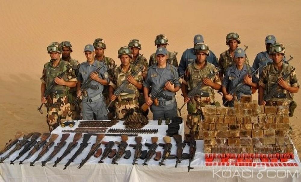 Algérie:  Une importante cache d'armes de guerre découverte à la frontière algéro-malienne