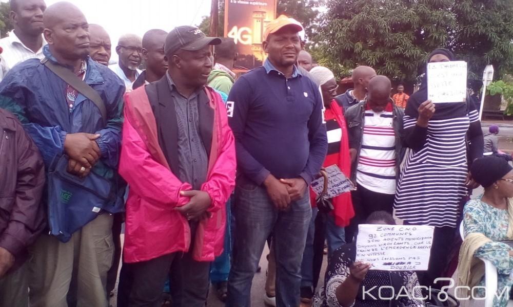 Côte d'Ivoire:  Après le sitting  du lundi, les agents municipaux des  ex- zones CNO annoncent une grande marche de protestation