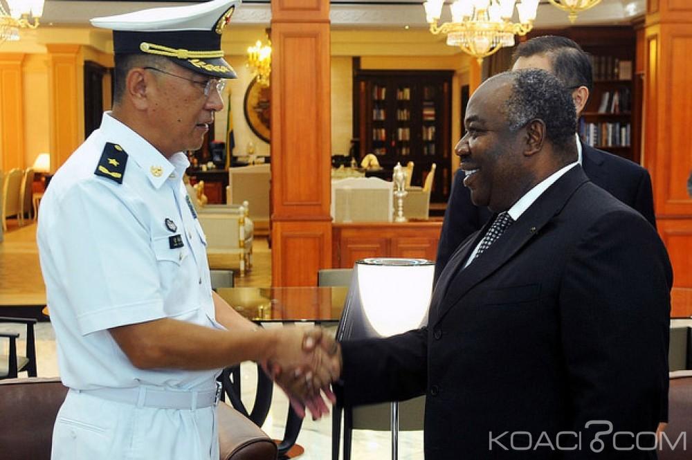 Gabon-Chine: Le Commandant du navire militaire médical chinois au palais