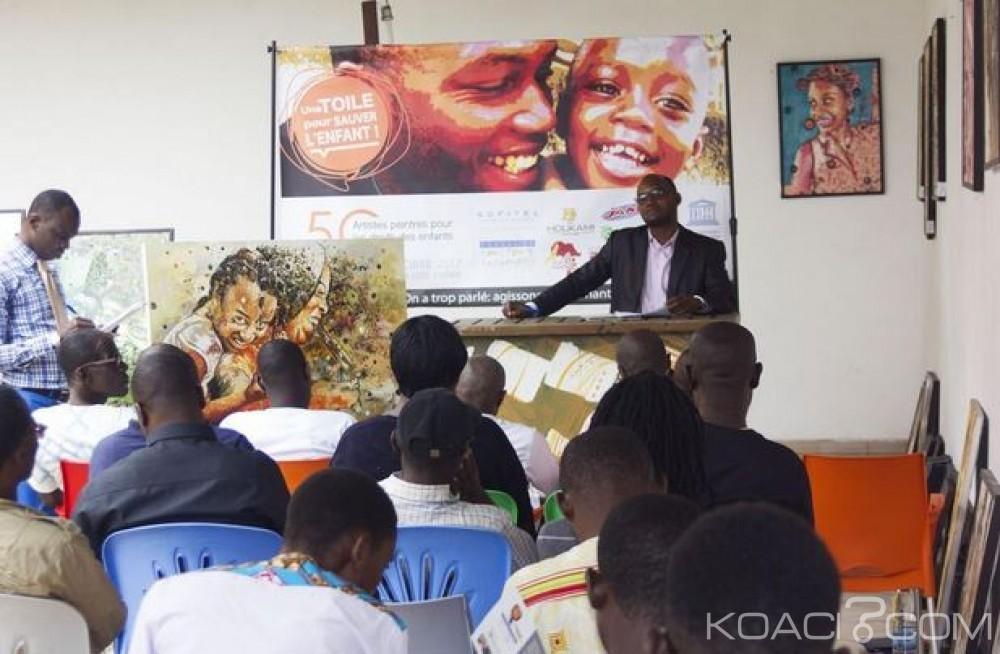 Côte d'Ivoire: Des artistes  peintres vont se mobiliser à travers des œuvres pour le bien-être des enfants