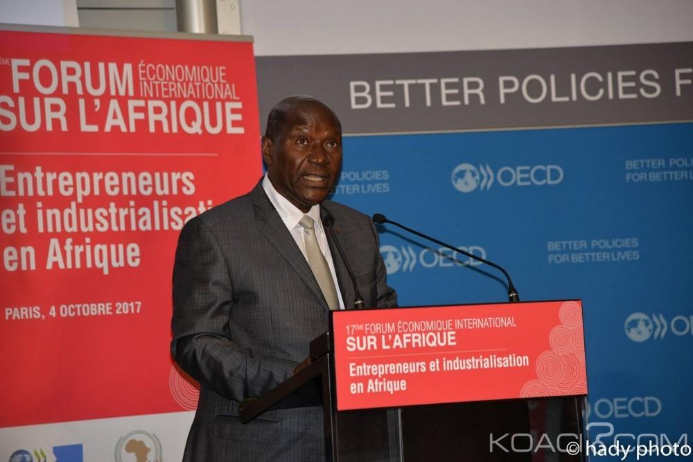 Côte d'Ivoire: Depuis Paris, Duncan annonce que la priorité de son pays est de disposer «d'entrepreneurs connectés au marché mondial»