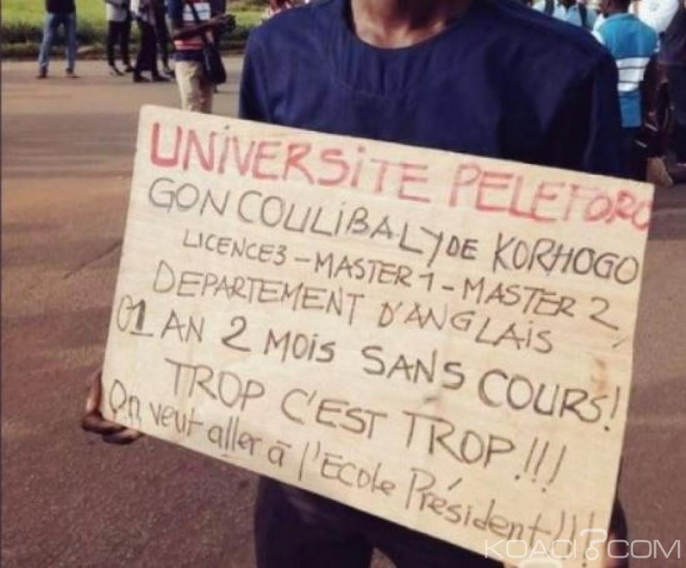 Côte d'Ivoire: Université de Korhogo, plus d'une année que des étudiants n'ont pas droit aux cours ?