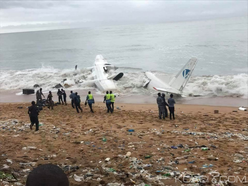 Côte d'Ivoire: Un avion s'écrase en mer peu après son décollage d'Abidjan