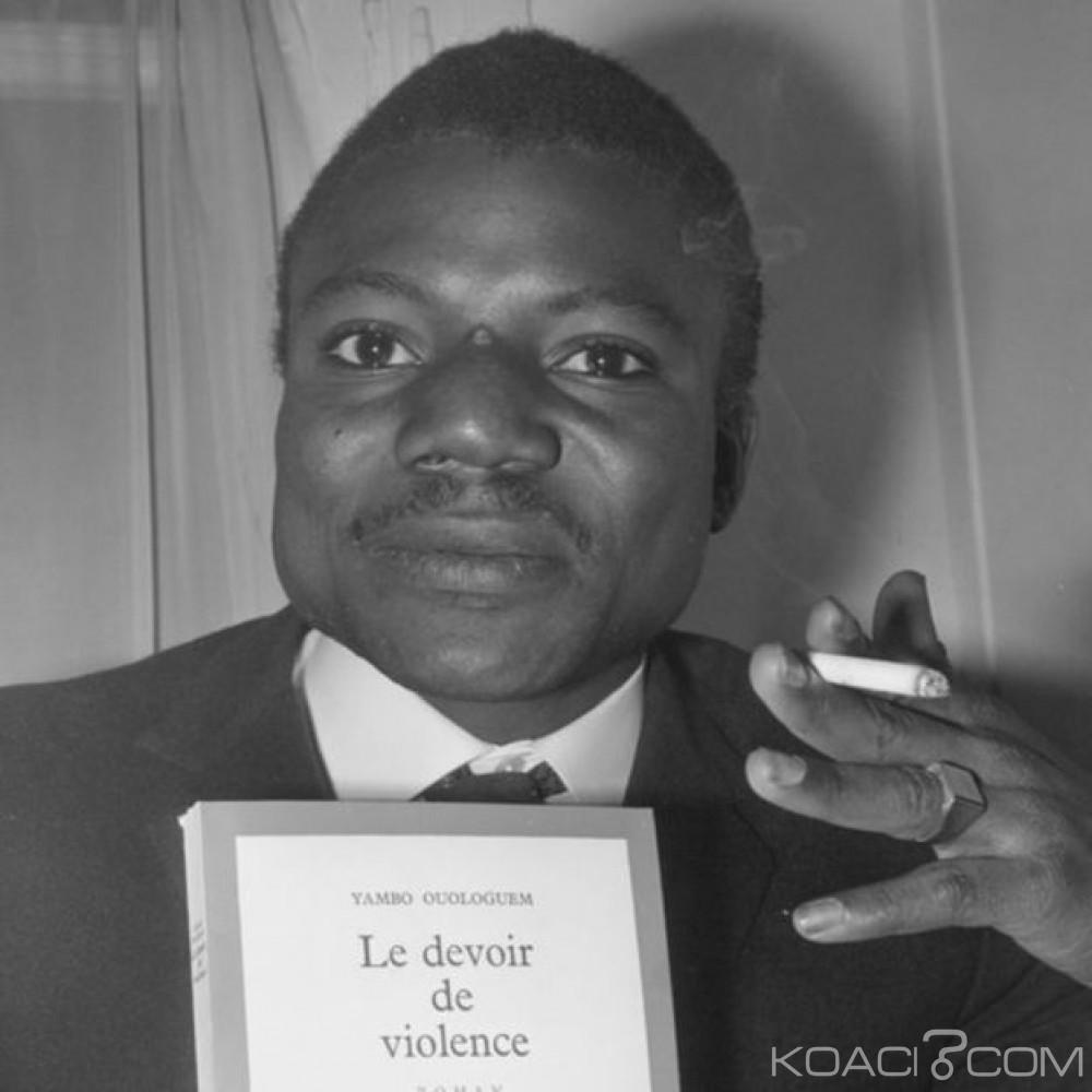 Mali: Mort de l' écrivain  Yambo Ouologuem, premier lauréat africain du Renaudot