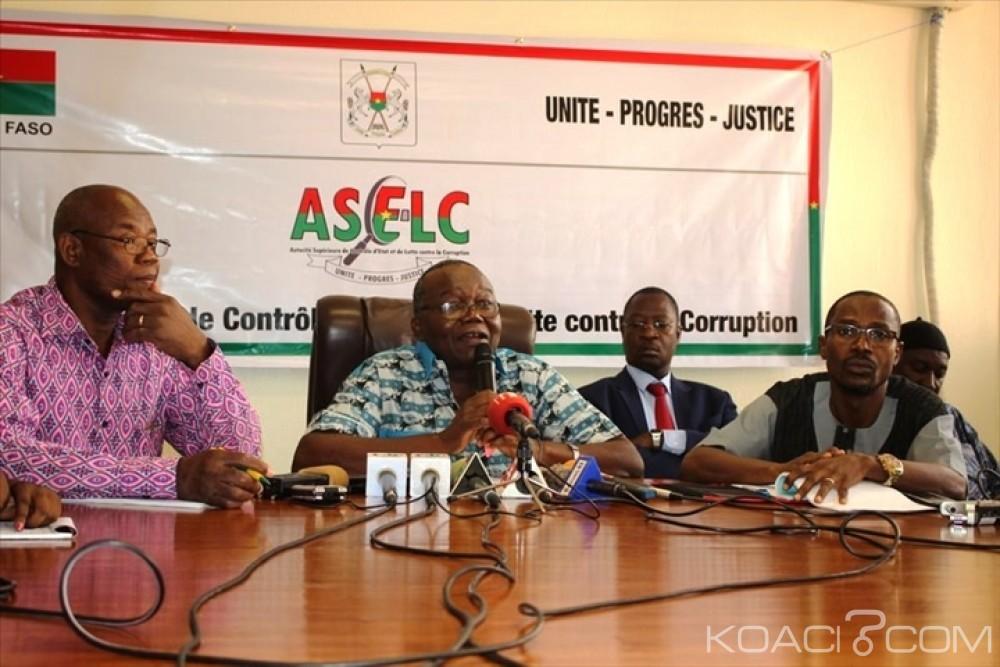 Burkina Faso: Plus de 245 millions de F CFA de dépense irrégulière à la présidence relevé par l'ASCE-LC