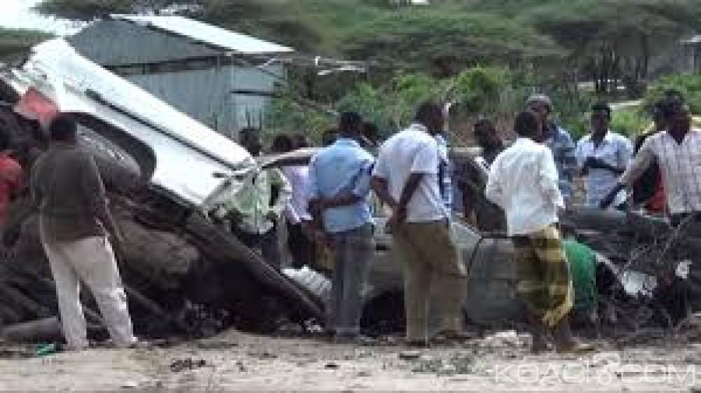 Somalie: Une mine explose au passage d'un minibus dans le sud, 8 morts et 6 blessés