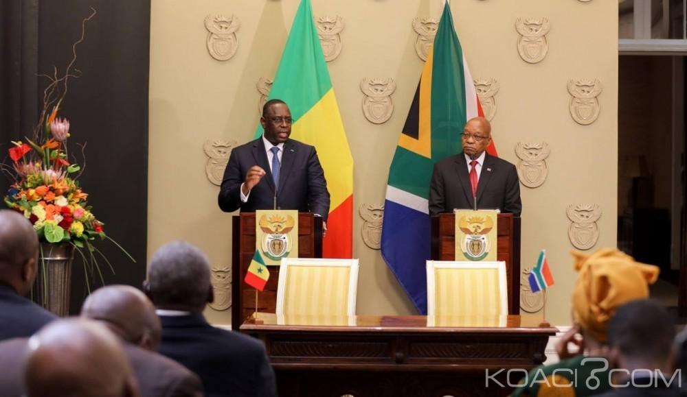 Afrique: Menace terroriste accrue,  depuis Cape Town Zuma et Sall appellent le continent a parlé «d'une même voix»