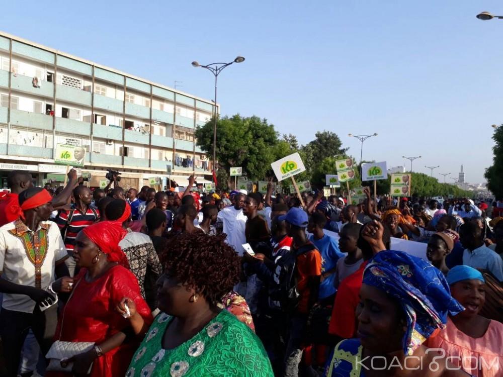 Sénégal: Manifestation à Dakar pour demander la libération du député-maire Khalifa Sall