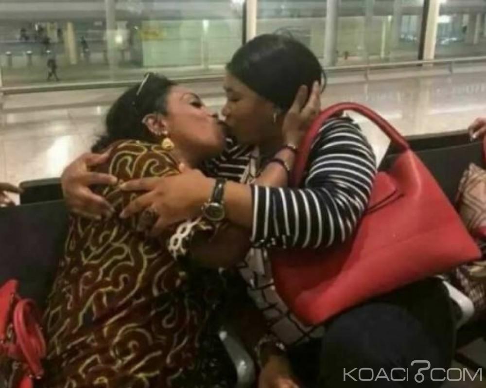 Côte d'Ivoire: Affou Kéita, une photo à polémique prise il y'a 17 ans, son admiratrice soutient, «c'est amical»