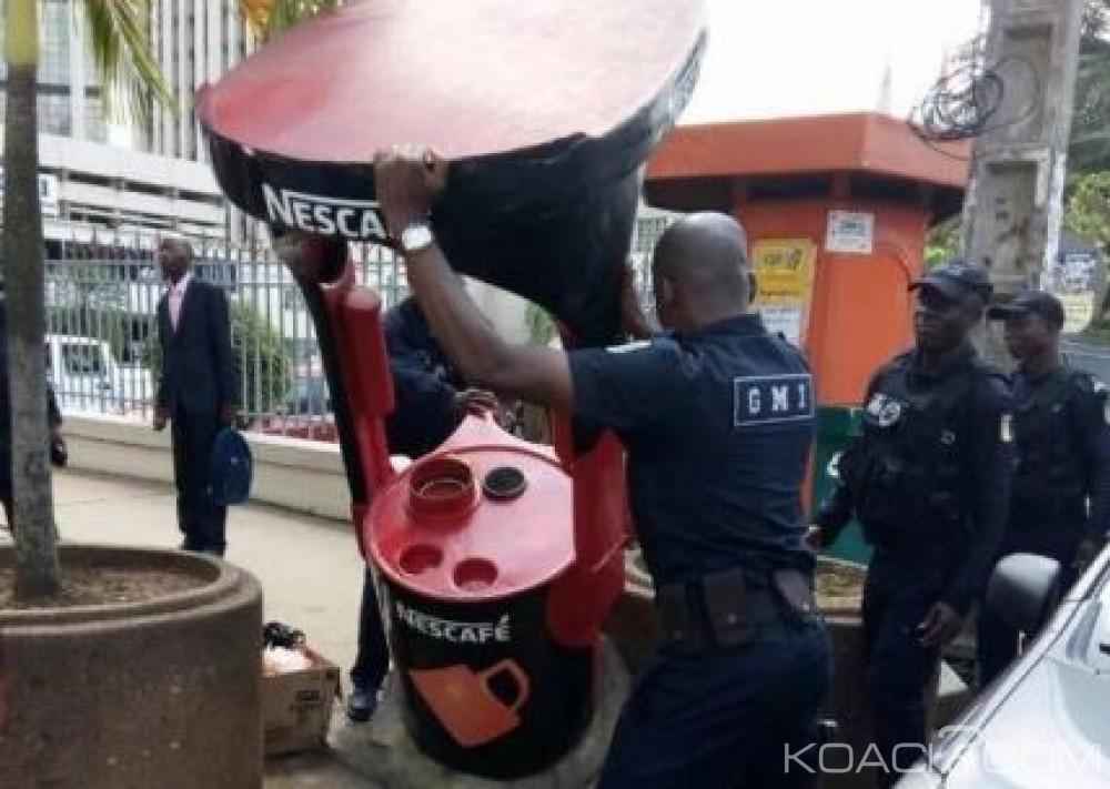 Côte d'Ivoire: Cabines, commerces autour des banques qui serviraient d'abris aux braqueurs, dégagés