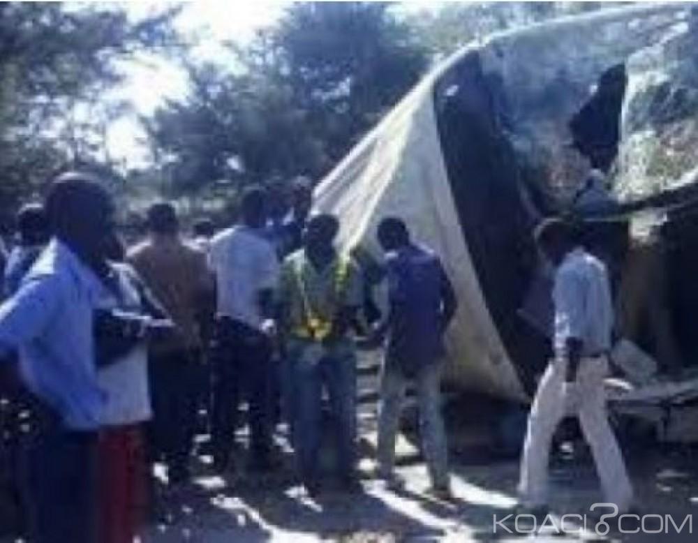 Malawi:  18 soldats  au moins tués et 15 blessés dans un accident de la route