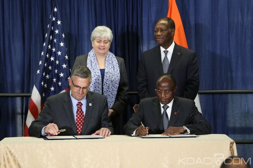 Côte d'Ivoire-USA: L'Etat et le MCC s'entendent sur une allocation de 524,7 millions de dollars