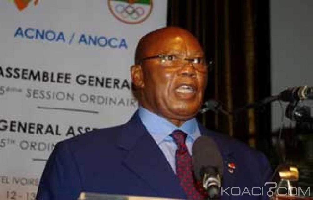 Côte d'Ivoire: Association des comités nationaux olympiques d'Afrique (ACNOA), Palenfo suspendu de ses fonctions de président