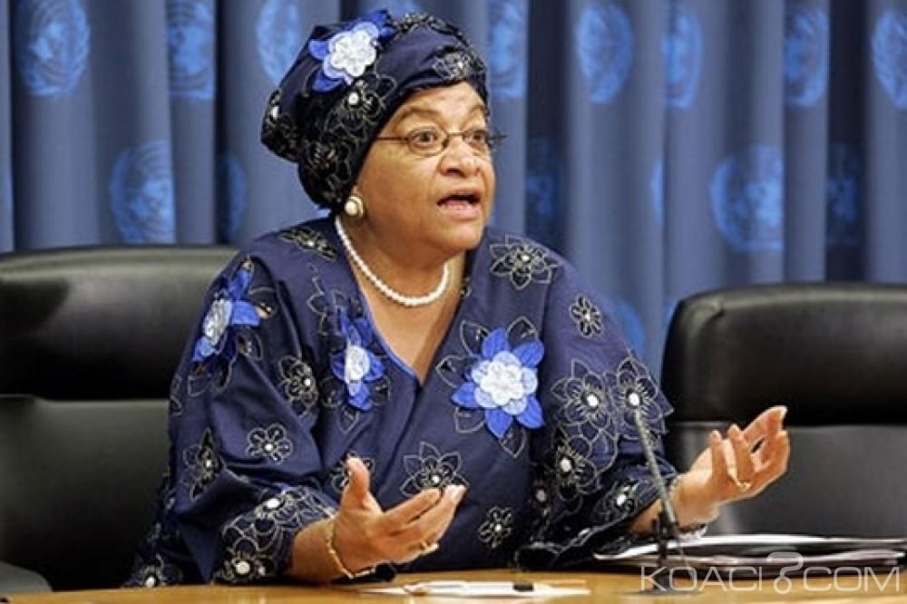 Liberia: Anxieuse pour son pays, Ellen Sirleaf appelle ses compatriotes à se ressaisir