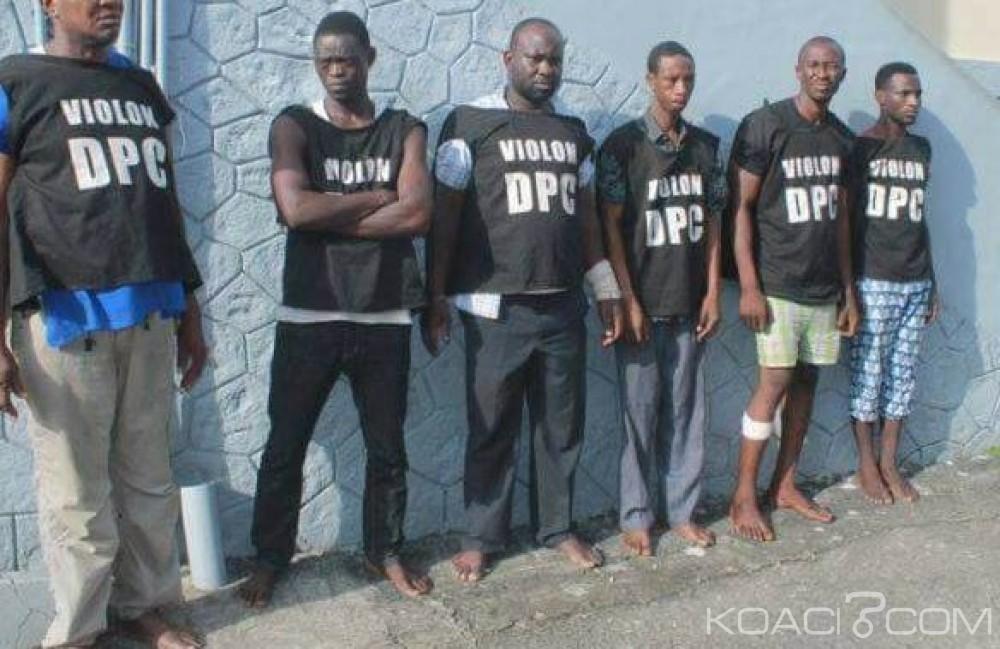 Côte d'Ivoire: Pour éviter une nouvelle évasion, les 5 malfrats présentés à la presse lundi sous haute surveillance à la Police criminelle