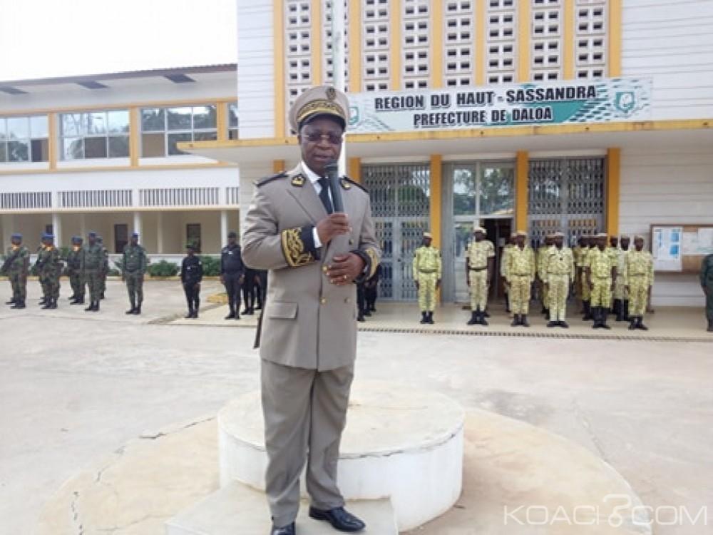 Côte d'Ivoire: Daloa, après les braquages et les récents mouvements entre chauffeur de taxi et garde pénitentiaire, le préfet, «il faut l'ordre» et la «vigilance»