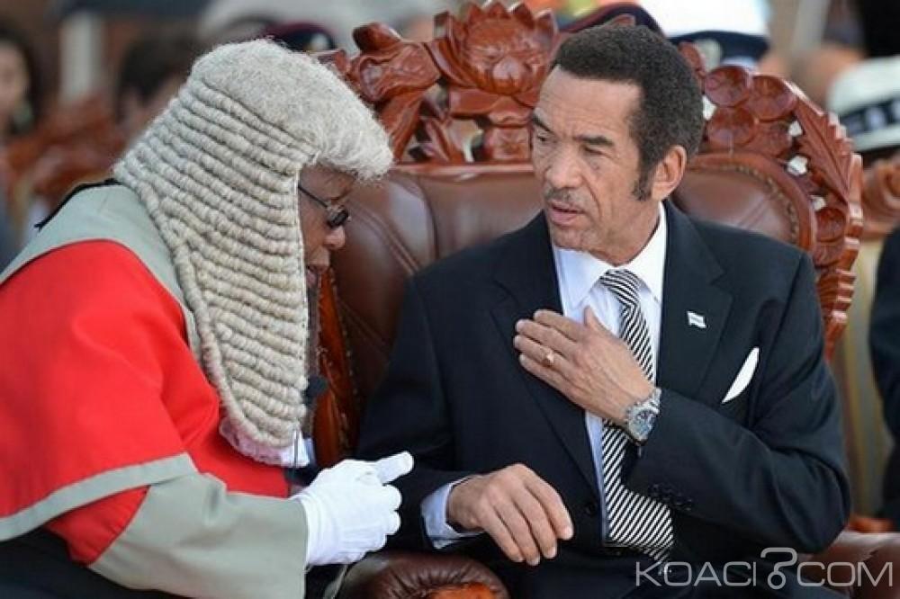 Botswana: Le Président Ian Khama s'apprête à quitter le pouvoir dans 5 mois