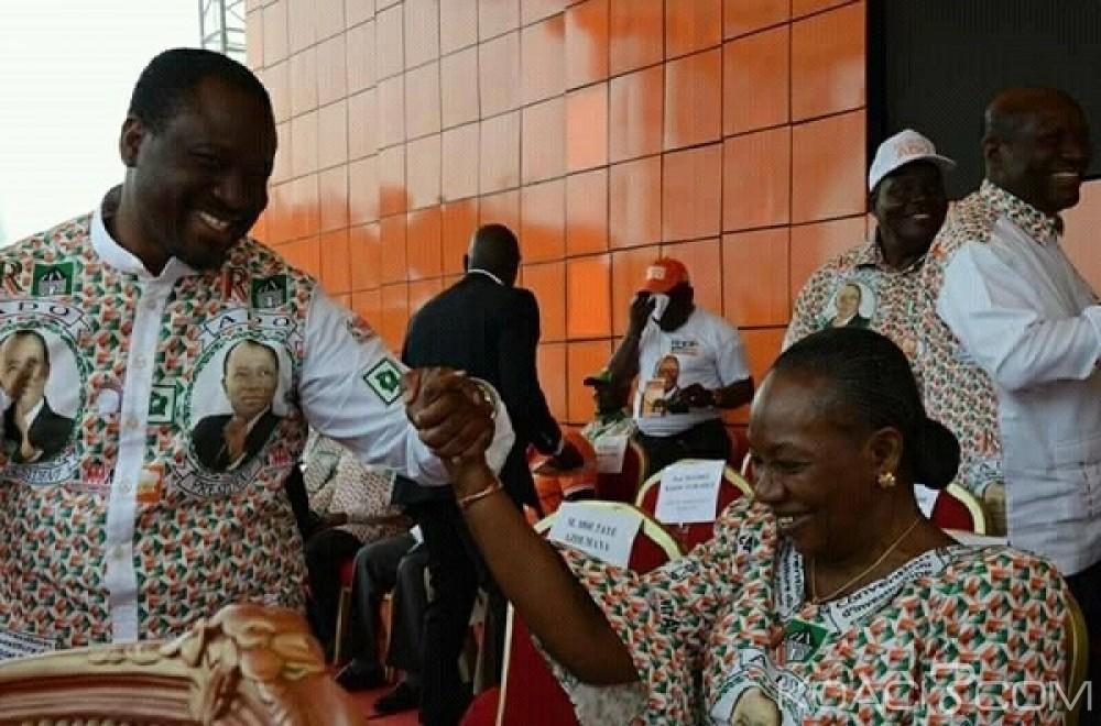 Côte d'Ivoire: Décrispation, «Soro fait partie de la liste des dirigeants du RDR», affirme Henriette Diabaté