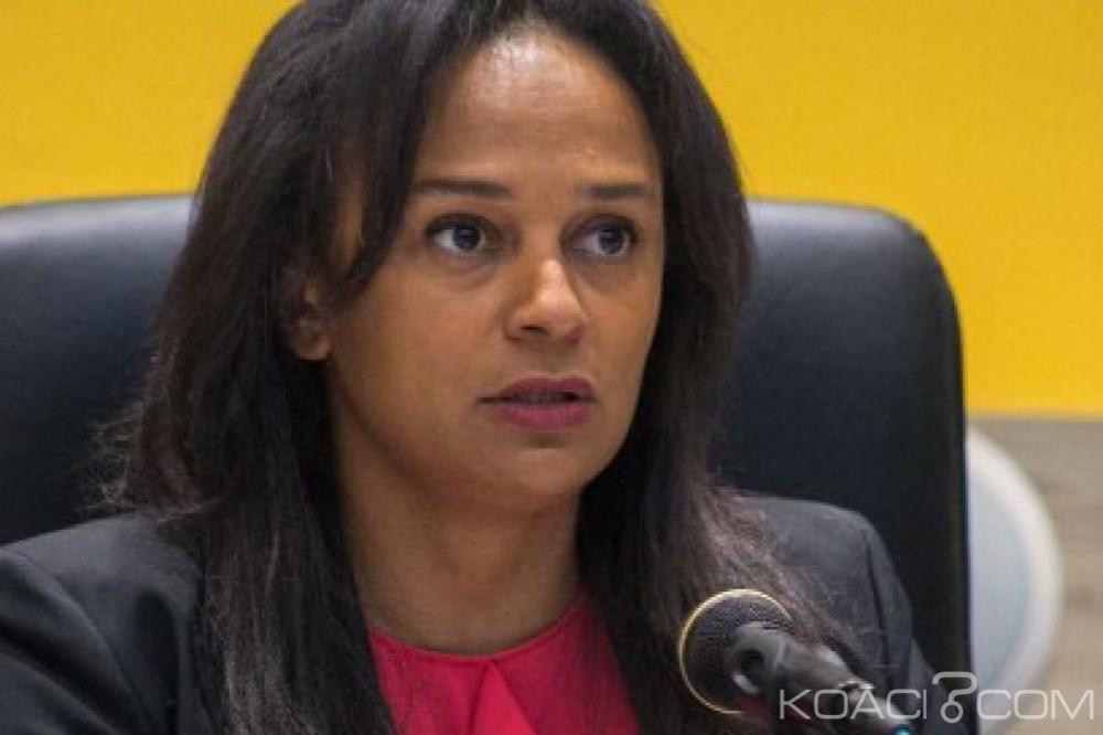 Angola: La fille de l'ancien président limogée de la compagnie pétrolier nationale