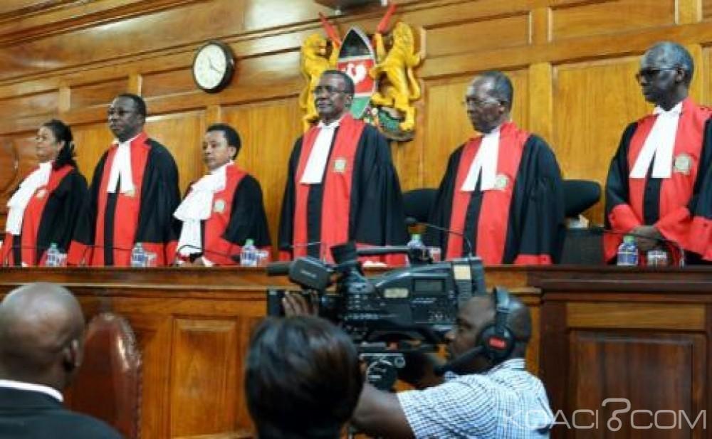 Kenya: Deux recours contre la victoire de Kenyatta examinés, verdict  de la cour suprême lundi