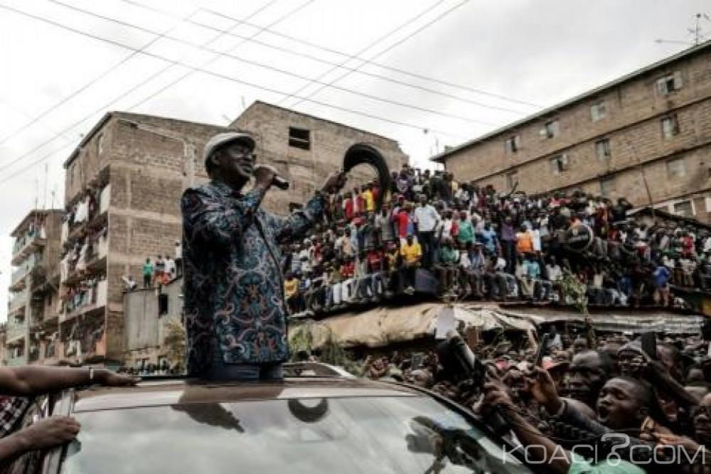 Kenya:  Cinq morts  à Nairobi après un retour mouvementé de l'opposant Raila Odinga
