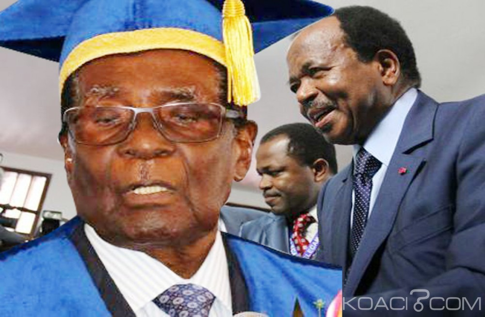Cameroun:  Longévité au pouvoir: Mugabe indésirable, Biya invité par son parti à se représenter