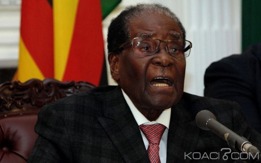 Zimbabwe:  Mugabe cède le pouvoir après 37 ans de règne