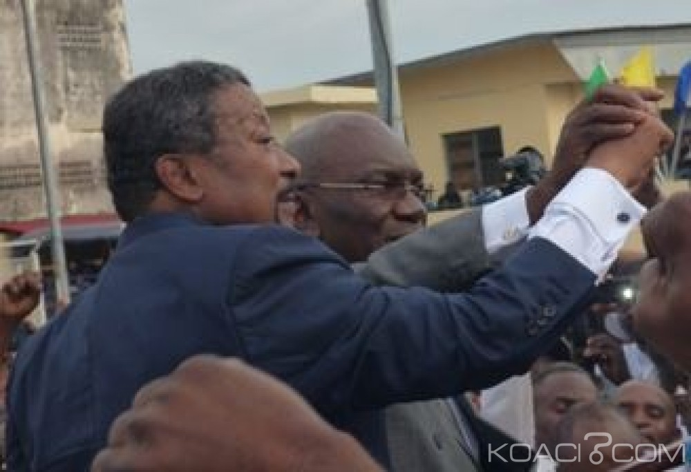 Gabon-Côte d'Ivoire: Ping et Myboto atterrissent à Abidjan
