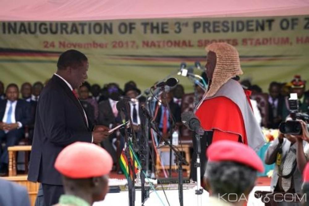 Zimbabwe: Fin des 37 ans de règne de Mugabe, Emmerson Mnangagwa officiellement Président