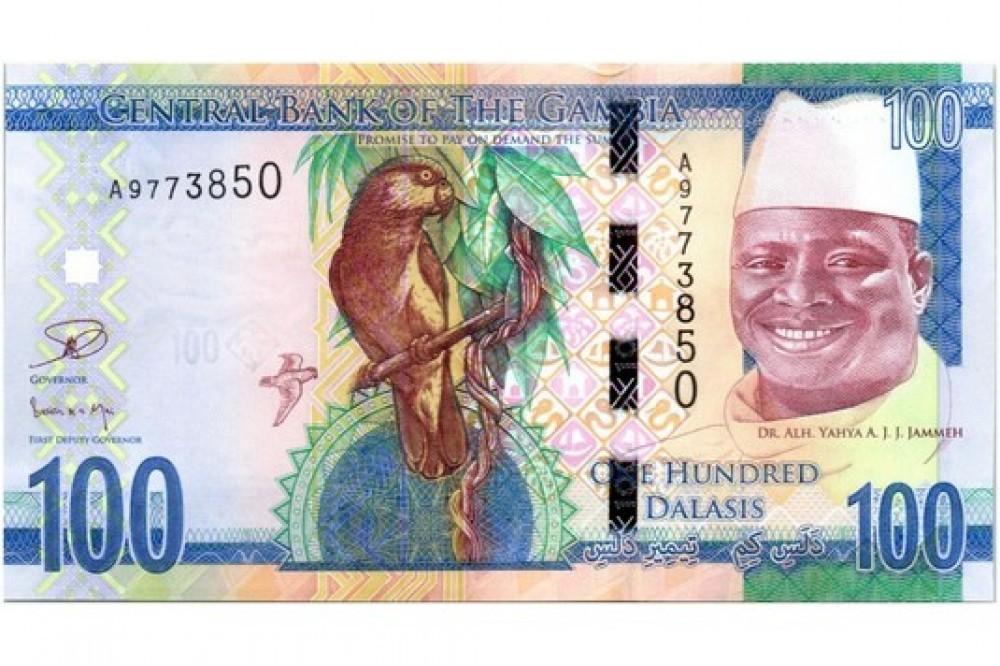 Gambie:  Des billets avec l'effigie de Jammeh à retirer
