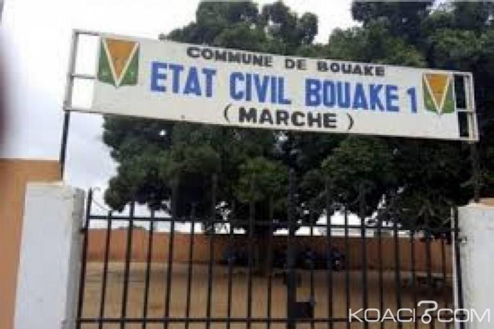 Côte d'Ivoire: Bouaké, les déclarations des naissances bloquées depuis un mois