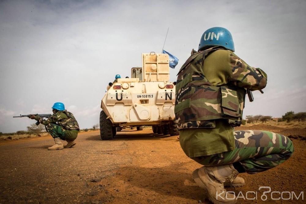 Centrafrique: Un casque bleu tué lors d'une attaque contre un check-point de la MINUSCA