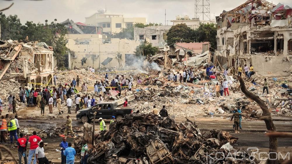 Somalie: Attentat du 14 octobre, le bilan passe désormais à 512 morts et 295 blessés