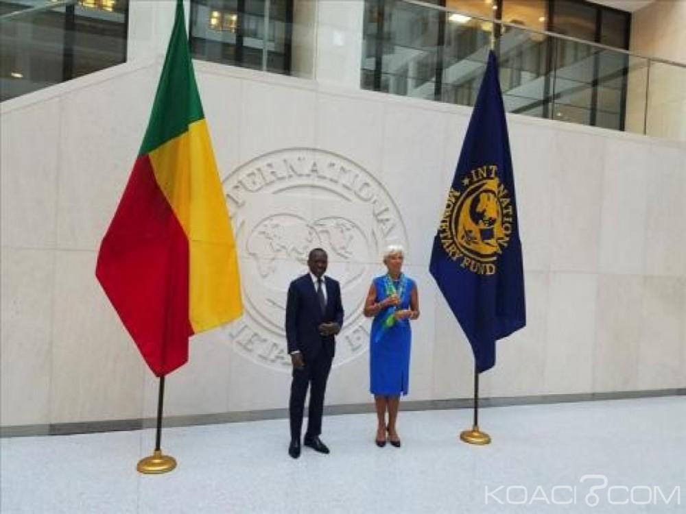 Bénin:  Le FMI débloque 13 milliards de FCA en appui  au gouvernement
