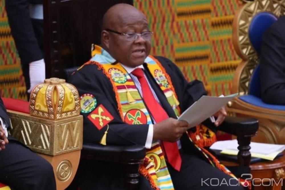 Ghana:   Accra se distance du président du parlement sur la question de Jérusalem