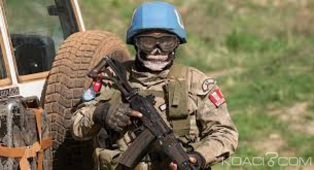 Centrafrique:  Attaque au mortier contre des casques bleus à Kaga-Bandoro, pas de victimes