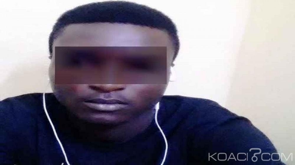 Côte d'Ivoire: Un brouteur soutirant de l'argent sur une plateforme de la police nationale, épinglé