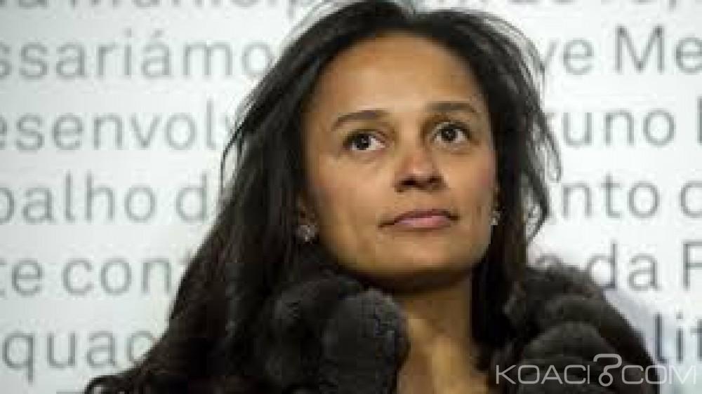 Angola:  Sonangol, Isabel  Dos Santos accusée d'avoir détourné  plusieurs millions d'euros du pétrole