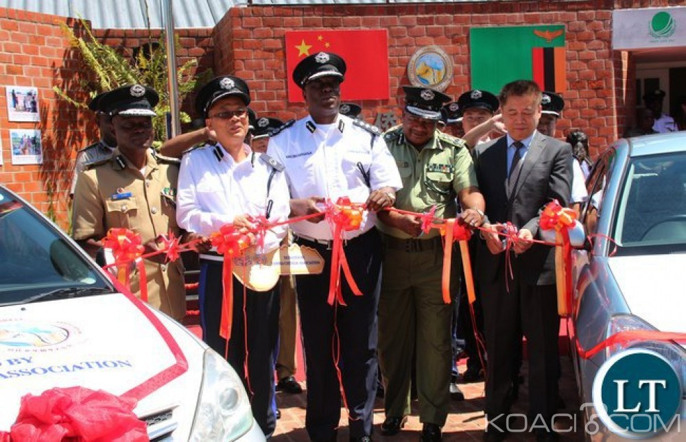 Zambie:  Huit chinois recrutés comme officiers à la police