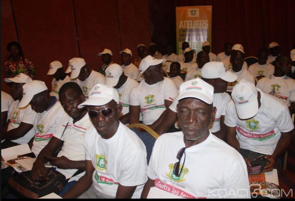 Côte d'Ivoire: Transport, un atelier ouvert à Yamoussoukro pour vulgariser les textes en vue d'un changement de comportement dans le milieu