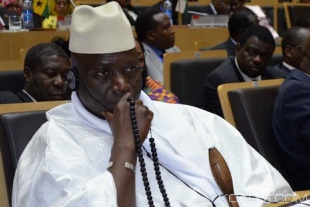 Gambie: Trump cible Jammeh avec des sanctions