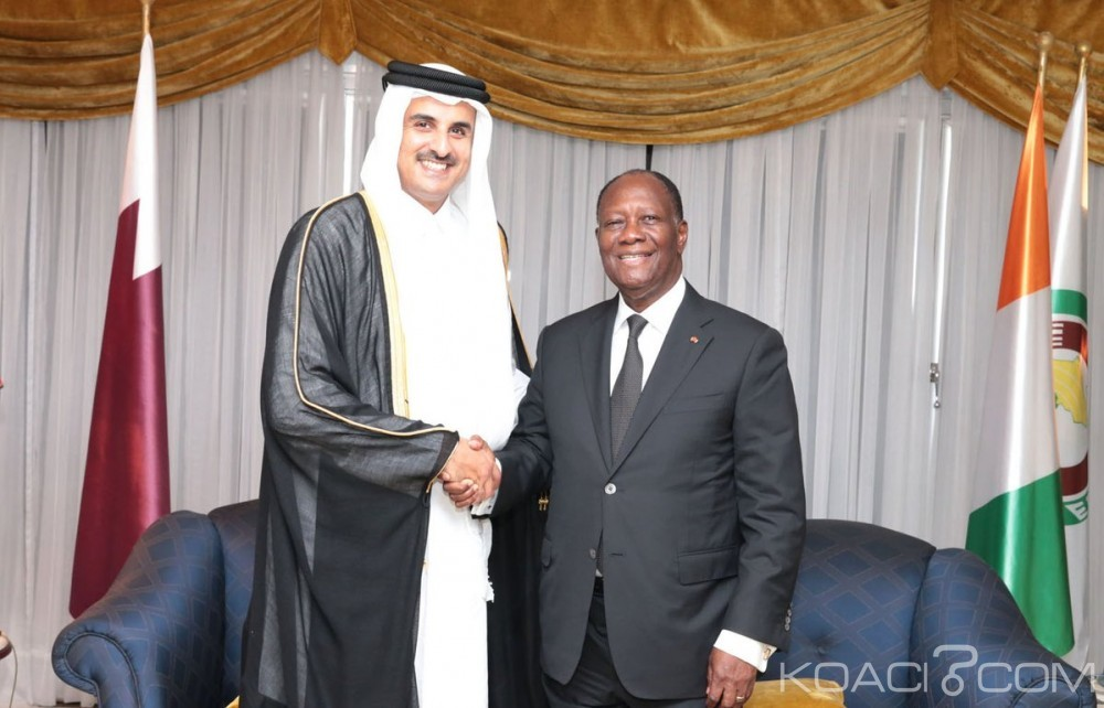 Côte d'Ivoire: Abidjan et Doha signent quatre accords bilatéraux dans le cadre d'une visite d'amitié et de travail de l'Emir du Qatar