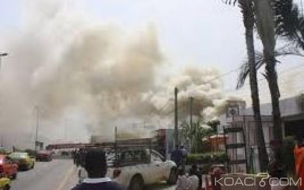 Côte d'Ivoire: Yamoussoukro, le marché central part en fumé, de nombreux dégà¢ts matériels enregistrés