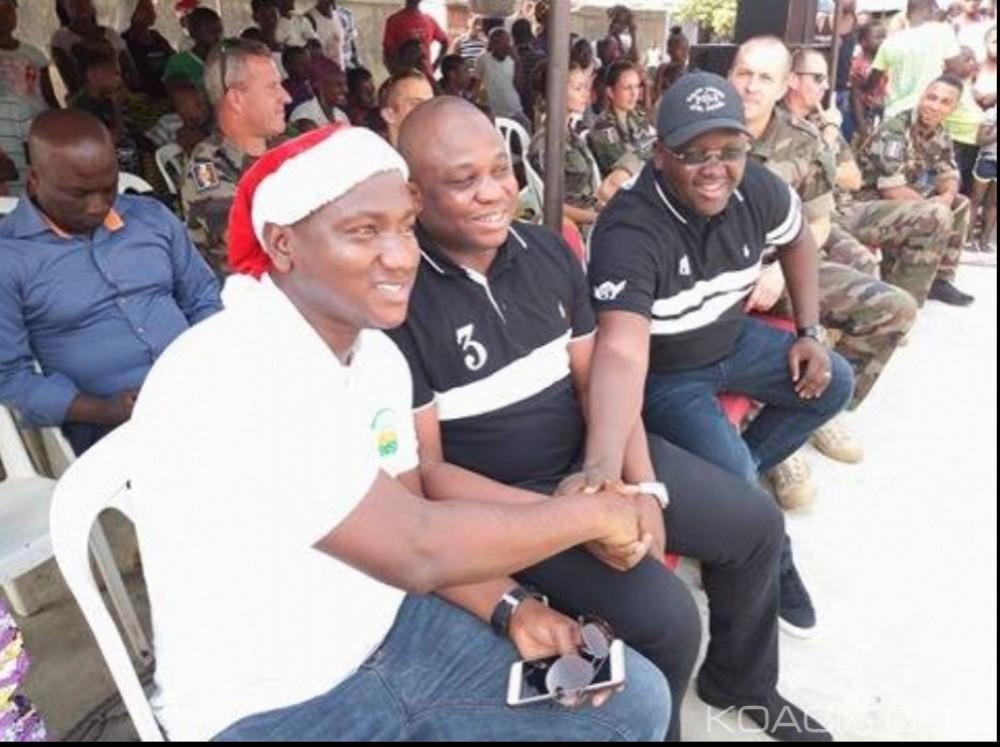 Côte d'Ivoire: Noël 2017, la fondation Magic System et l'armée française donnent le sourire à près d'un millier d'enfants à Port Bouët