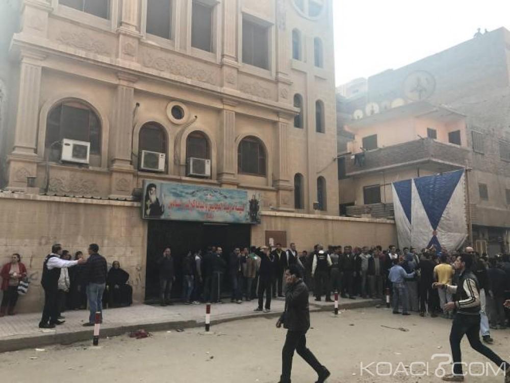 Egypte:  Nouvelle attaque contre une église copte au Caire, 10 morts